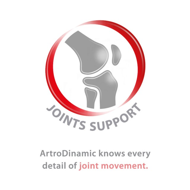 ArtroDinamic increases lubrication and joint mobility