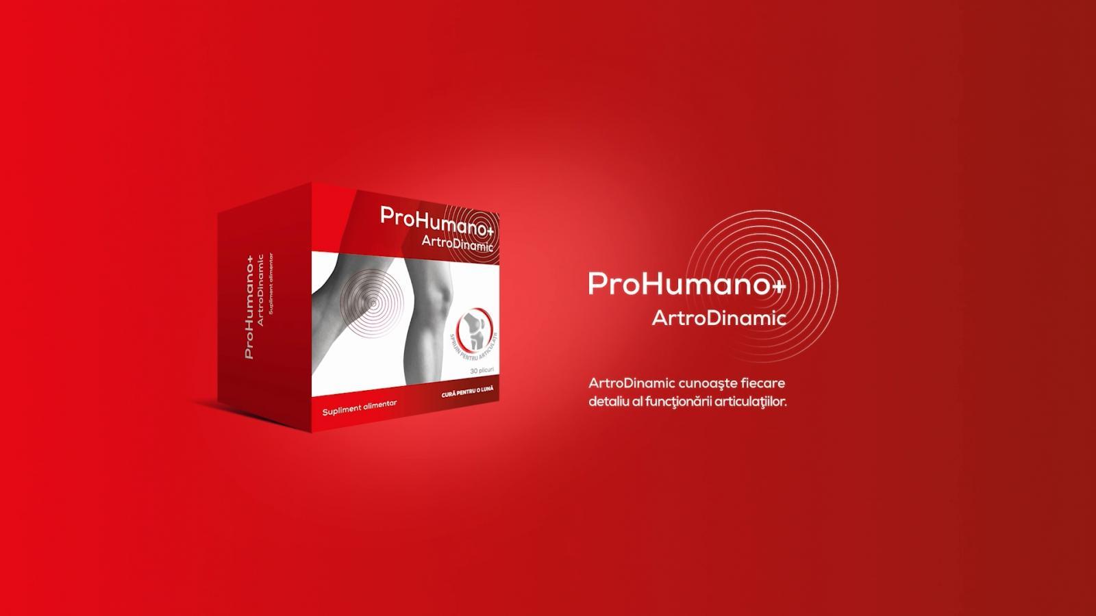 ArtroDinamic pentru articulații. Susține regenerarea cartilajului, crește gradul de lubrifiere și mobilitatea articulațiilor