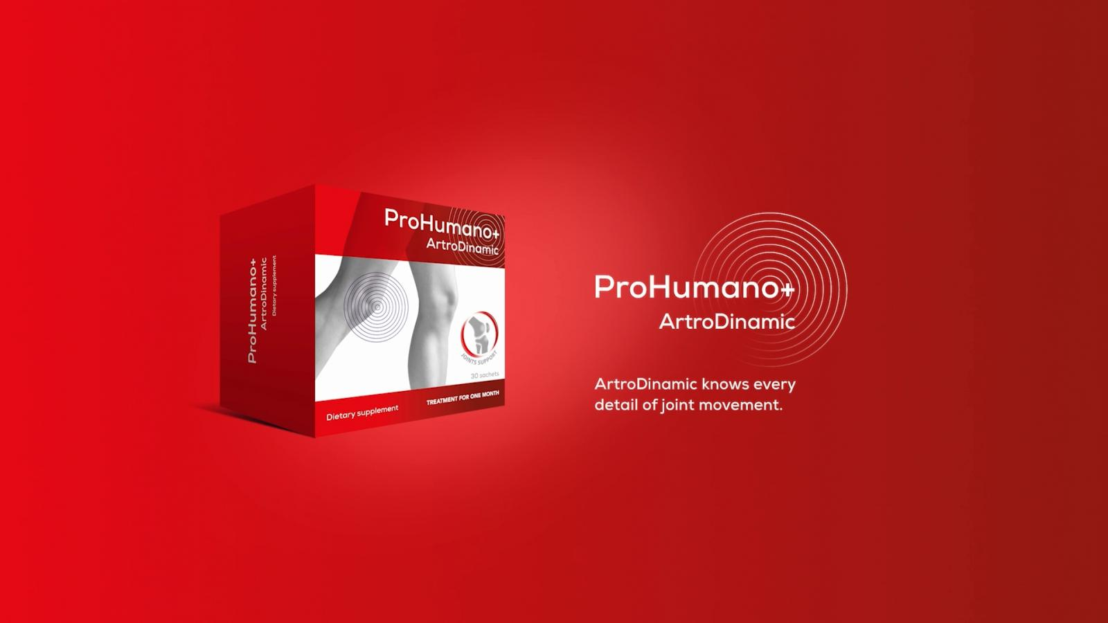 ArtroDinamic for joints. Supports cartilage regeneration, increases lubrication and joint mobility.