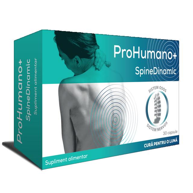 SpineDinamic pentru sistemul nervos periferic. Susține regenerarea nervilor periferici și redă mobilitatea coloanei vertebrale